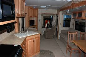 Interior Of Like New Rv Trailer