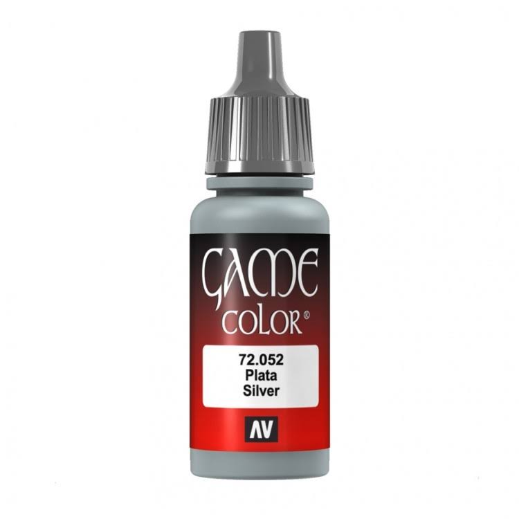 Vallejo Game Color - 72.052 Silver, 17ml