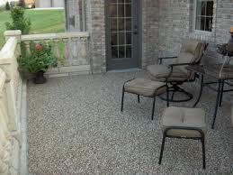 Patio Flooring Outdoor Patio Rubber Flooring Effective Porch