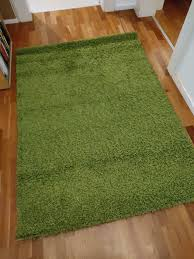 shaggy teppich grün kibek wohnzimmer kinderzimmer