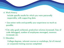 How To Write A Excellent Resume by How To Write An Excellent Resume
