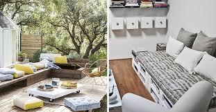 coussin pour palette où trouver des coussins pour meubles en palette