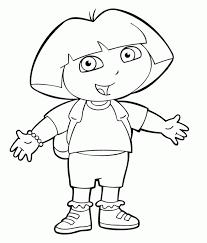 Dora Color Pages 18 Kids