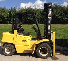 100 Yale Lift Trucks HYSTER H90XM PNEUMATIC TIRE DIESEL POWERED FORKLIFT 774 Magnum
