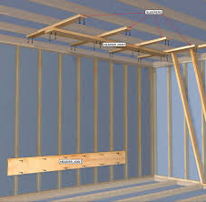 Ceiling Joist Spacing For Drywall by How To Build A Home Climbing Wall Rei Co Op Journal