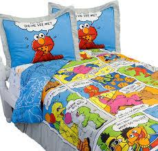 sesame street full bedding set elmo comic strip bedding