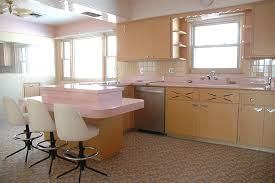 The First Thing Youll Notice Is That This Kitchen Has Pink Everywhere