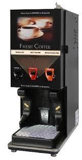 Newco 120496 BPC LCD 2 Selection Hot Liquid Coffee Metal Door