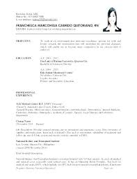 Example Of Resume Objective For Working Student Examples Objectives In Resumes Sample Nursing Here Are Professional
