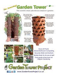 Garden Tower vertical posting garden Garden Tower United Kingdom