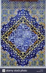 st augustine florida tiles moorish tiles stock photo