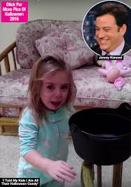 Jimmy Fallon I Ate Your Halloween Candy by Watch Jimmy Kimmel U0027s Halloween Candy Prank See Kids Get Their