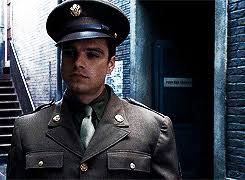 My Stuff Captain America Marvel Bucky Barnes Sebastian Stan WHAT A CUTIE The