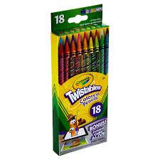crayola twistables colored pencils 18 ct meijer com