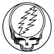Dead Kennedys Halloween Tab by Grateful Dead Black Steal Your Face Rub On Sticker Within Tab