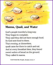 Exodus 16 God Supplies Manna Quail And Water Moses Story