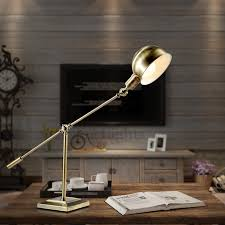 Retro Style Industrial Desk Lamp For Study Room