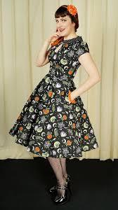 Salem 50s Swing Dress