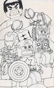 Lego Avengers By Megaturkey