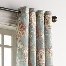 Pier 1 Imports Curtains by Somerton Floral Gray Grommet Curtain Pier 1 Imports
