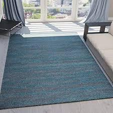 teppich kurzflor wohnzimmer meliert mehrfarbig beige braun türkis grau blau türkis grau rosa grün pflegeleicht robust qualität 120x170 cm