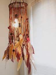 How To Make A Bohemian Chandelier With Feathers And Beads