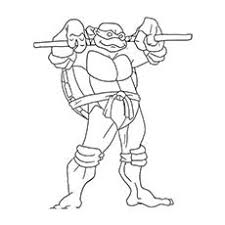 Superhero Donatello Coloring Pages