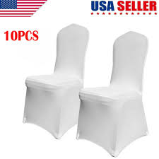 Details About 10 PCS White Spandex Stretch Folding Chair Covers Wedding  Party Banquet US Details About 75 Polyester Folding Chair Covers Wedding Party Banquet Reception Decorations Monrise 12 Pcs White Spandex Chair Covers Universal Polyester Stretch Slipcover For And Hotel Decoration Elastic Our White Tablecloths With Folding Chair Covers Folding Accessory Nisse Black Cover Gold Cheap Linen Find Row Of Chairs Fabric Stock Photo Home Fniture Diy 50pcs Whosale Chairswhite Wood Buy Aircheap Chairsfolding Product On Alibacom 50pcs Premium Poly Wedding Party Outstanding See Through Ding Chairs Room