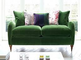 Green Velvet Sofa Ikea Cover Bed