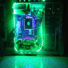 etopxizu computer rgb led light with remote