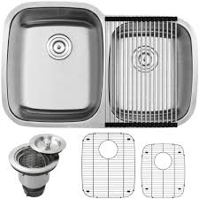 Where Are Ticor Sinks Manufactured by Ticor S305 Stainless Steel Undermount Double Bowl Kitchen Sink 16
