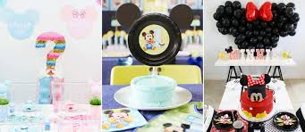 Easy Mickey Mouse Party Ideas   Fun365 Minnie Mouse Room Diy Decor Hlights Along The Way Amazoncom Disneys Mickey First Birthday Highchair High Chair Banner Modern Decoration How To Make A With Free Img_3670 Harlans First Birthday In 2019 Mouse Inspired Party Supplies Sweet Pea Parties Table Balloon Arch Beautiful Decor Piece For Parties Decorating Kit Baby 1st Disney