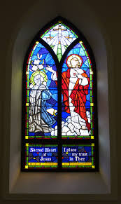 love the stain glass window old christ church in pensacola