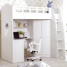 Stylish Loft Bed With Closet Underneath Loft Bed With Closet