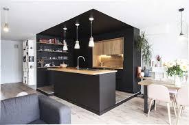 renovation cuisine bois beautiful cuisine bois et noir ideas design trends 2017