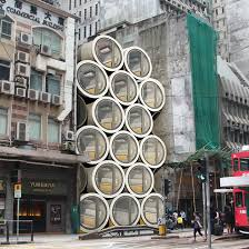 100 Hong Kong Apt Micro Homes In Pipes Designed To Ease S Housing Crisis
