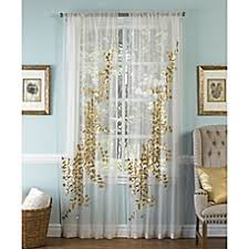 Bed Bath And Beyond Curtains Draperies by Window Panels Bed Bath U0026 Beyond