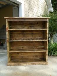 Diy Pallet Bookcases Grand