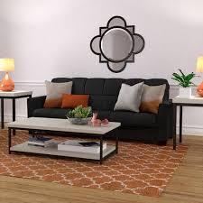 mainstays baja futon sofa sleeper bed multiple colors walmart com