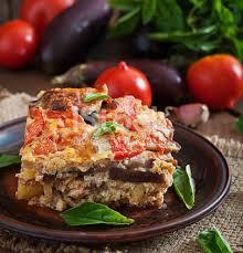 cuisine grecque moussaka photo de une moussaka grecque traditionnelle plat image libre de