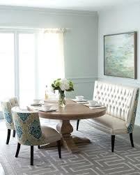 20 Settee In Dining Room Graceful Eclectic Rooms