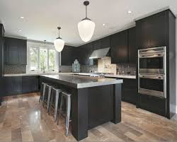 attractive light wood kitchen cabinets on brown paint colors