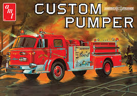 AMT 1/25 American LaFrance Pumper Fire Truck| 1053 - Up Scale Hobbies