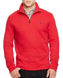 polo ralph lauren french rib half zip pullover bloomingdale u0027s