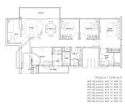 104 Tree House Floor Plan 3 Bedroom Type Bs1