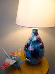 Fillable Craft Table Lamp by How To Fill A Brån Lamp From Ikea Jumbo Jibbles