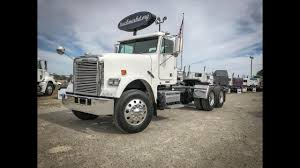 100 Day Cab Trucks For Sale 2008 FREIGHTLINER FLD120 CLASSIC Tandem Axle Cab For Sale YouTube