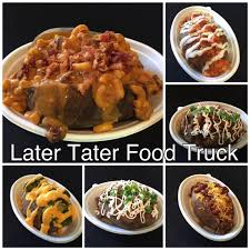 Later Tater Food Truck - Caterer - Gilbert, Arizona - 48 Reviews ... Give Us Your Taco Trucks On Every Corner Food Truck Wikipedia Beverage Scottsdale Arts Festival Biscuit Freaks Truck Feeds Emerson Fry Bread Phoenix Trucks Roaming Hunger Hotdog New Food Friday At The Open Air Queso Good Images Collection Of Foodtruck Cartoon Retro 25 Best In Arizona Sarah Scoop
