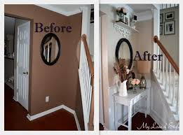 FOYER MAKEOVER BEFORE AND AFTER PHOTOS