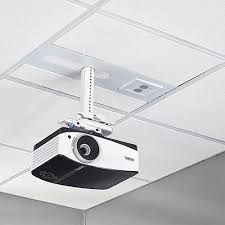 sysauwp2 suspended ceiling projector system with 2 gang filter surge